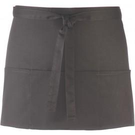 PR155 - Colours' 3 pocket apro zwart