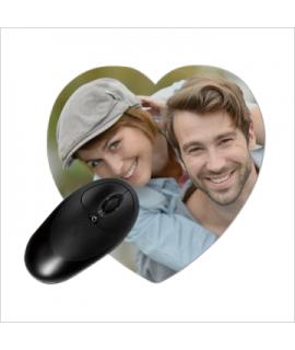 Mousepad hart 230 x 200 mm