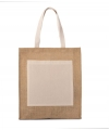 KI0221 Jute shopper natural*gold