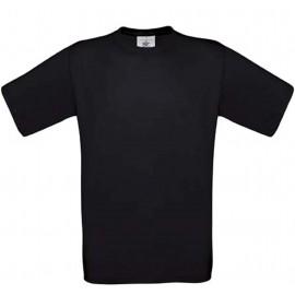 CGTU03T - B&C Exact 190 T-shirt zwart