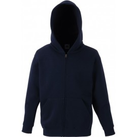 SC62045 - Kids Classic Hooded Sweat Jacket zwart
