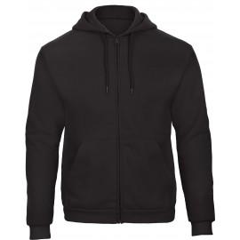 CGWUI25 - ID.205 Hooded Full Zip zwart