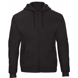 CGWUI25 - ID.205 Hooded Full Zip zwart