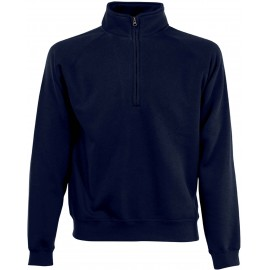 SC165 - Premium Zip Neck deep navy