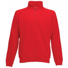 SC165 - Premium Zip Neck red