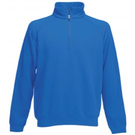SC165 - Premium Zip Neck royal blue