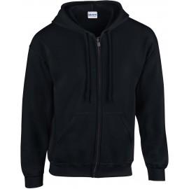 GI18600 - Heavy Blend™ zoodie zwart