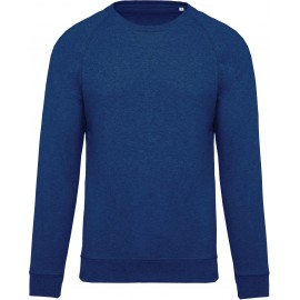 K480 - Herensweater BIO ocean blue heather