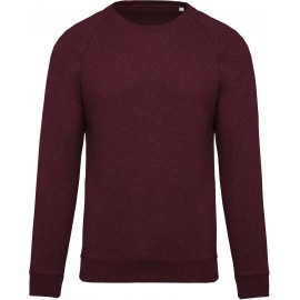 K480 - Herensweater BIO wine heather