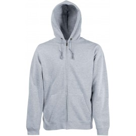 SC361C - Men's Premium zoodie heather grey