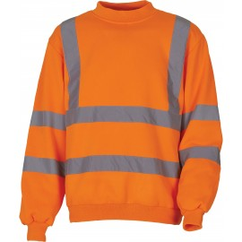 YHVJ510 - Signalisatie Sweatshirt geel