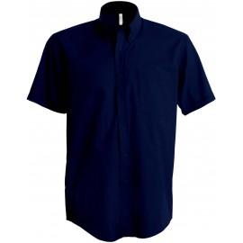 K520 - Kinder poplin overhemd navy