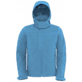 CGJM950 - Hooded Softshell aqua