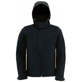 CGJM950 - Hooded Softshell black