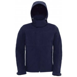 CGJM950 - Hooded Softshell navy