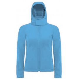 CGJW937 - Hooded Softshell Women aqua