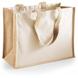W422 Jute Shopper natural