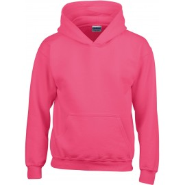 GI18500B heavy blend hooded sweater heliconia