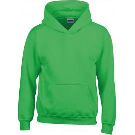 GI18500B heavy blend hooded sweater Irisch green