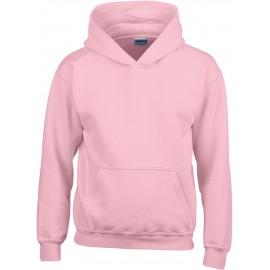GI18500B heavy blend hooded sweater light pink