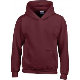 GI18500B heavy blend hooded sweater maroon
