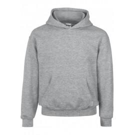 GI18500B heavy blend hooded sweater sportsgrey