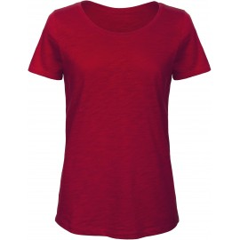 CGTW047 - SLUB Organic chic red