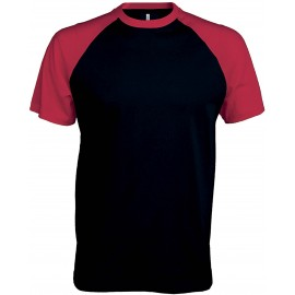 K330 - Baseball aqua black/red