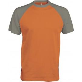 K330 - Baseball orange/light grey