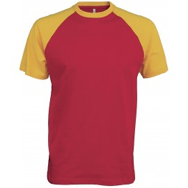 K330 - Baseball red/yellow