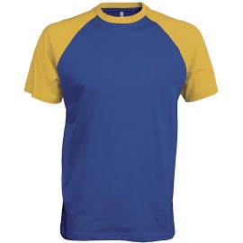 K330 - Baseball royal blue/yellow