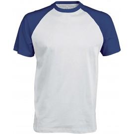 K330 - Baseball white/royal blue