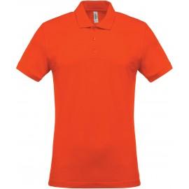 K254 - Piqué-herenpolo orange