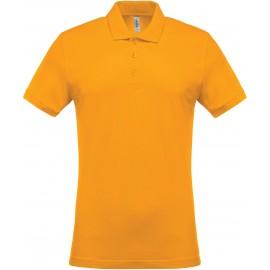 K254 - Piqué-herenpolo yellow