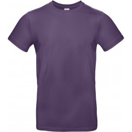 CGTU03T - B&C 190 T-shirt radiant purple NIEUW 2018