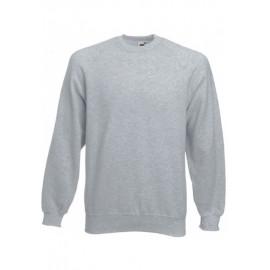 SC4 - Classic Raglan Sweat (62-216-0) FRUIT OF THE LOOM heather grey