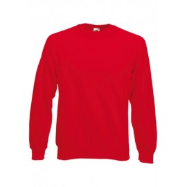 SC4 - Classic Raglan Sweat (62-216-0) FRUIT OF THE LOOM red