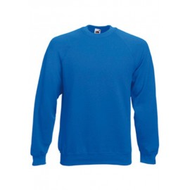 SC4 - Classic Raglan Sweat (62-216-0) FRUIT OF THE LOOM royal blue