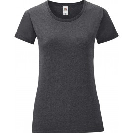 SC61432 - Iconic-T Ladies' T-shirt zwart