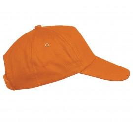 KP034  - FIRST - PET MET 5 PANELEN K-UP orange