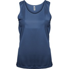PA442 - Damessporttop aqua blue tot 18 nov -55%