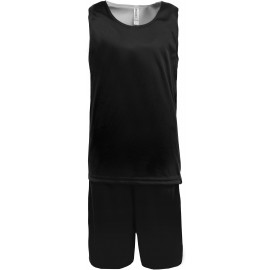 PA449 - kids Omkeerbare basketbalset zwart tot 18 nov -55%
