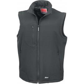 R123 - Softshell Bodywarmer zwart tot 1 dec -55%