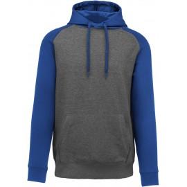PA369 - Tweekleurige sweater grijs*zwart tot 3 nov -52%