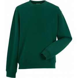 RU262M - Authentic Sweatshirt RUSSELL bottle green