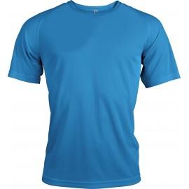 PA438 - Functioneel sportshirt aqua blue