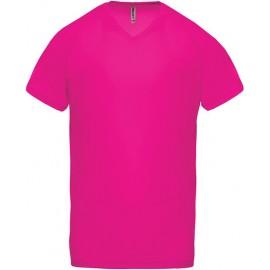 PA476 - Heren-sport-t-shirt V aqua tot 12 dec - 53%
