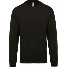 K474 - Sweater ronde hals zwart