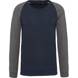 K491 - Bio navy heather-grey heather
