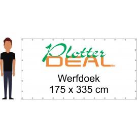 Heras Werfdoek (spandoek 510 grams dicht doek)